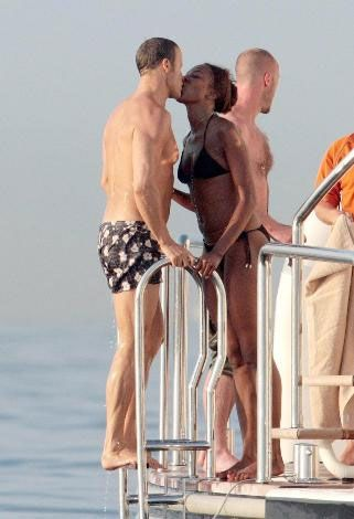 Naomi Campbell ve sevgilisi